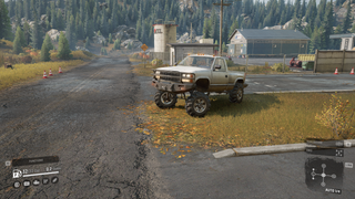 Squatted / Lifted Chevy KC1500