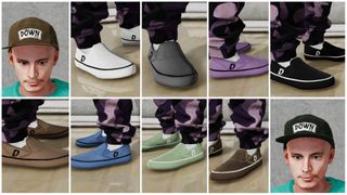 Down Slippers Simple 8 colors + 2 5panel