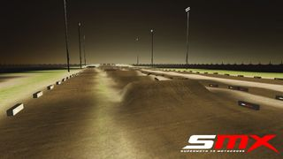 Outdoor Supercross Track (Night)