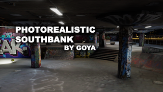 Photorealistic Southbank