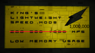 -KING's- 10000x Lightweight Speed Mod