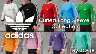 Adidas Cuffed Long Sleeve Collection by Joob