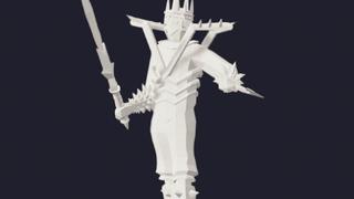Bone sculpture