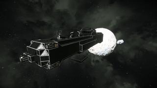 Military cargo ship