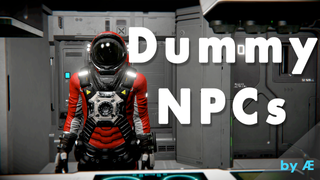 AE NPC Dummies - Interactable NPC Blocks