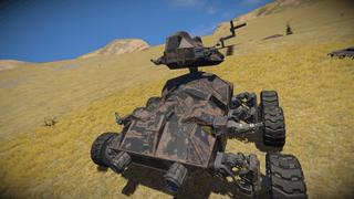 Rotor jolt tank