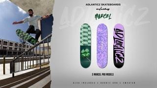 Adlanticz Skateboards welcomes Marcel