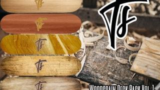 Total Steez Woodgrain Deck Pack