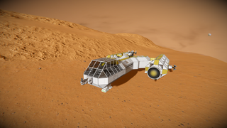 Y-Wing like small large grid ship