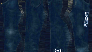 6 Jeans Big Letters