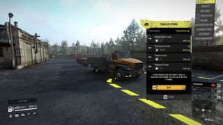 stock trucks with mini crane can now have trailers