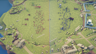 The Two Empires: Red and Blue