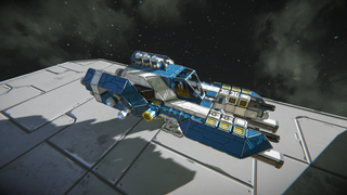 Fighter ship