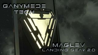 Ganymede Tech - MagLev Landing Gear 2.0