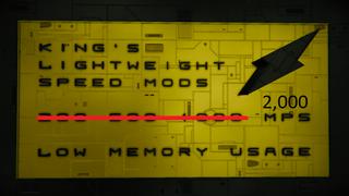 -KING's- 20x Lightweight Speed Mod