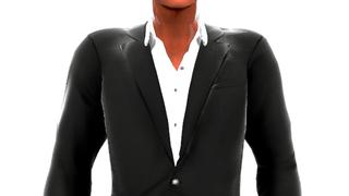 Open Collar Jacket