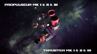 propulseurs MK I / II / III - MK I / II / III