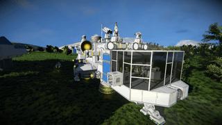 Interstellar Freighter