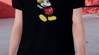 [Tshirt] Revenge Mickey Mouse Black Shirt