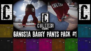 Cultured Skate Co Gangsta Baggy Pants Pack #1