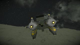 Rebel fuel ship