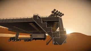 Pod with landing pad