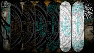 CreepyCat SkateBoards - Dagger