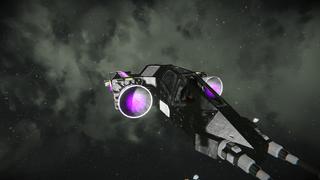 SRF Helljet class fighte