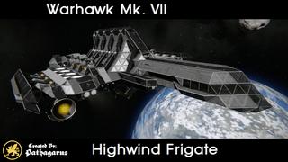 Warhawk Mk. VII [Highwind Frigate]