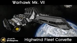 Warhawk Mk. VII [Highwind Fleet Corvette]