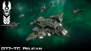 UNSC D77-TC Pelican Halo 2 anniversary