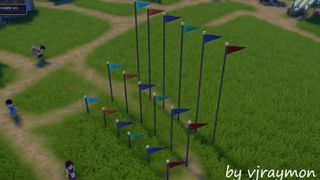 Pole and Flag V3