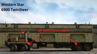 TwinSteer All Axles Steerable