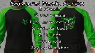 Dishonour Wheels Samurai Mask Team Series