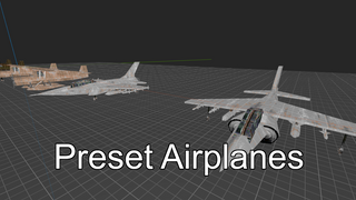 Preset Airplanes