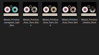 Primitive Wheels Pack