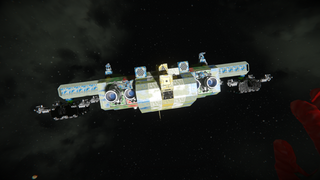 Blue whale troop carrier