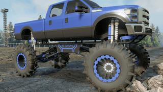 B-350 Diesel Mega Mud Truck [Console Friendly]