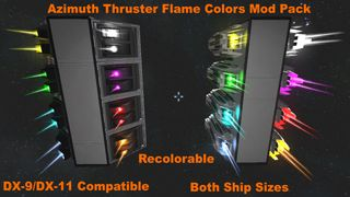 Azimuth Colored Flames Pack