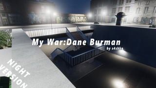 My War Dane Burman by s4shko (night)