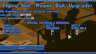 Power Suit Upgrade