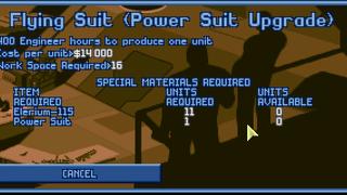 Power Suit Upgrade