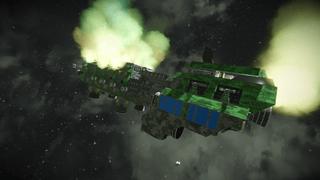 Dracs Hulk Freighter - Mk 3