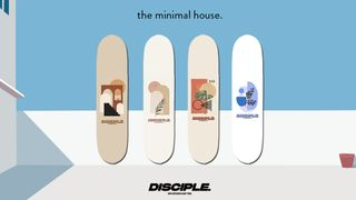 DISCIPLE Skateboards | The Minimal House Deck Pack