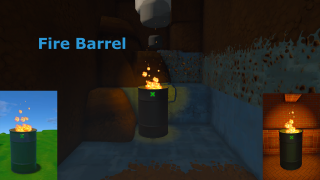 Fire barrel (Garbage)