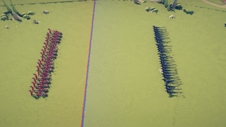 The charge of Sparta (BaronVonGames)