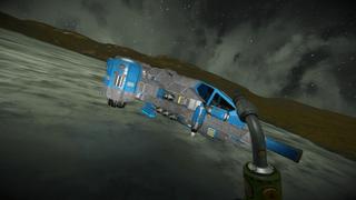 Landing pod