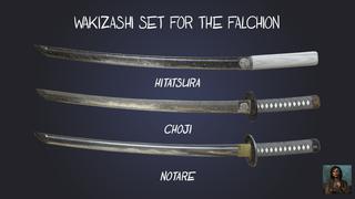 [Skin] Wakizashi Set