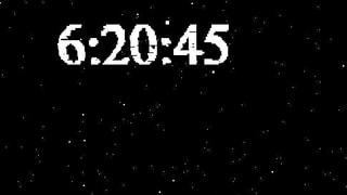 H5 Cavas Clock