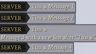 Interval based Messages - Serverside only Mod
